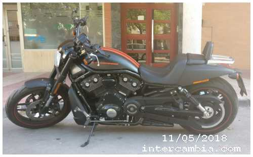 Vendo Naked/Custom Harley Davidson Night Rod Special